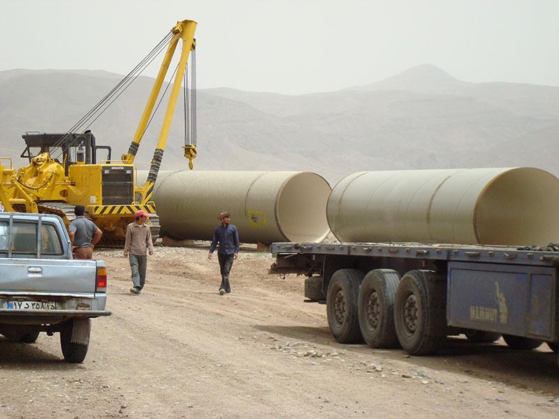 Aydoghmoosh Water Transmission Line